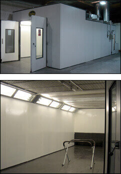 In House Paint Spraying Booth