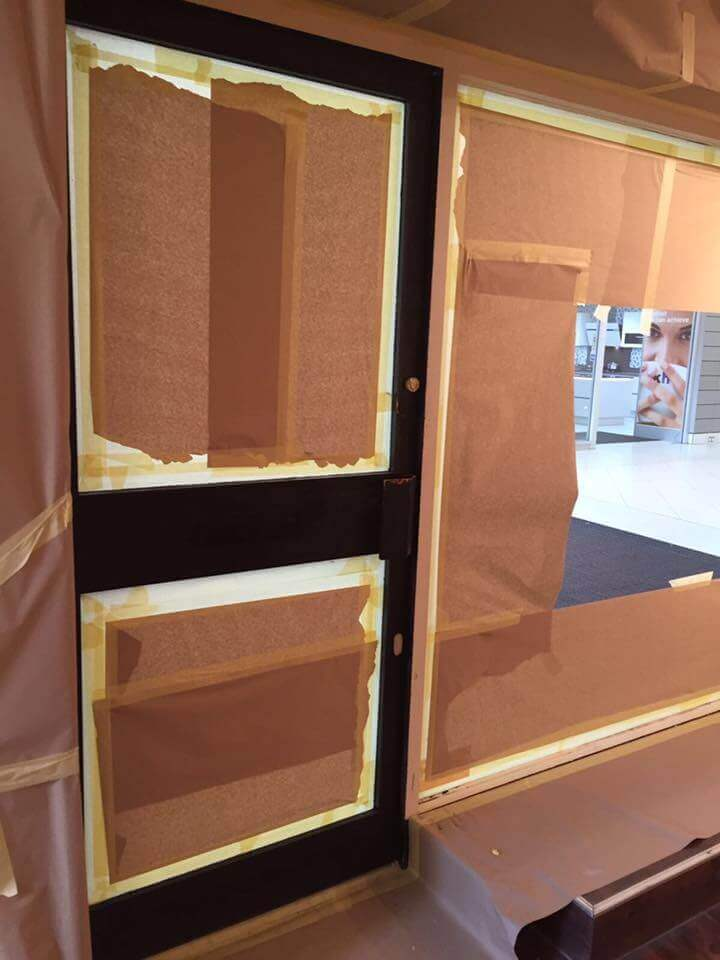 Shop Front Spray Painting Essex