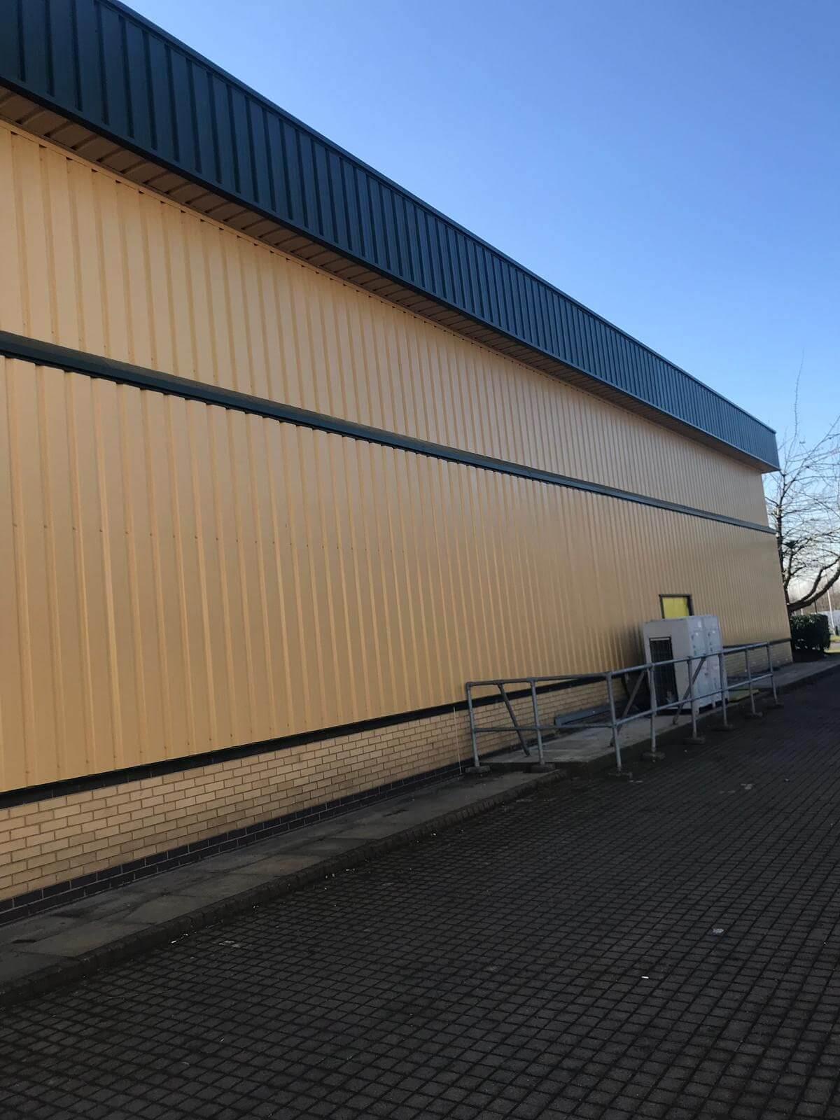 Metal Cladding Refurbishment Northampton