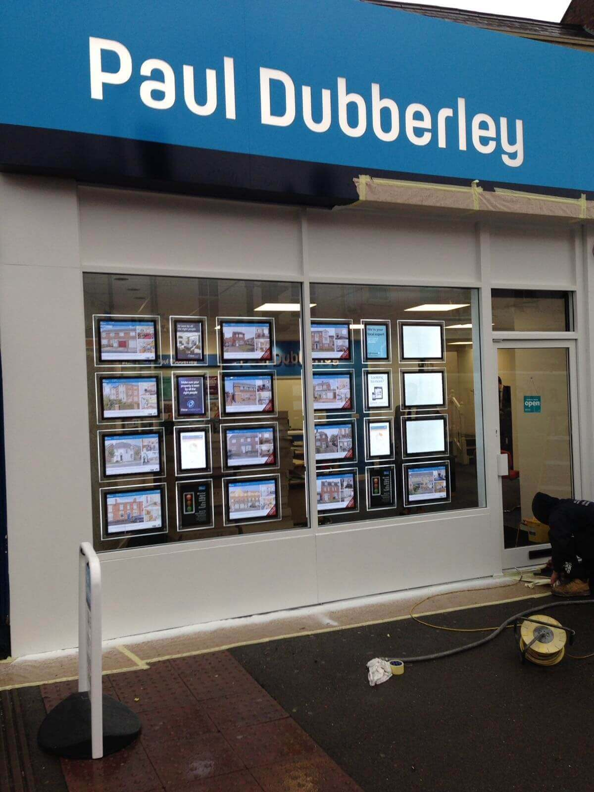 Shop Front & Doors Colour Change birmingham