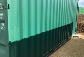Steel Shipping Container Refurbishment London